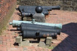 Cannon on display at Fort McHenry